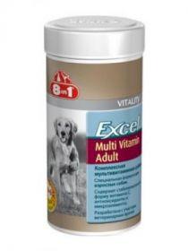 Мультивитамины Excel 8in1 с витамином C и антиоксидантами