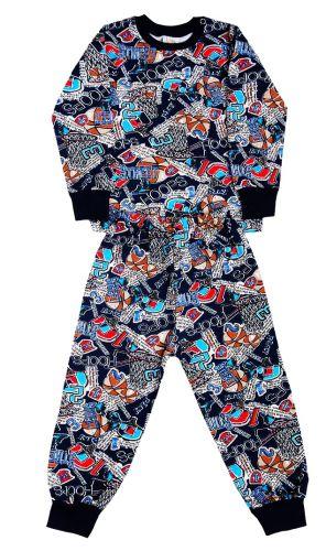 Пижама детская  с начесом  (2-6лет)№FU256
