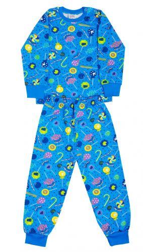 Пижама детская  с начесом  (2-6лет)№FU255