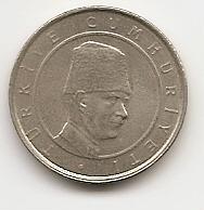 100.000 лир (Регулярный выпуск) Турция 2001