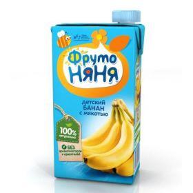 Фрутоняня Нектар из бананов, 500мл