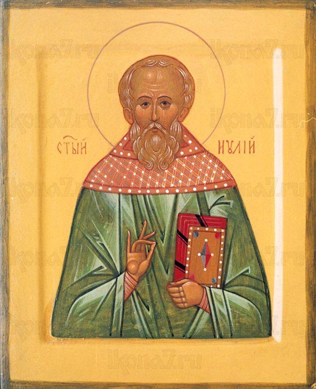 Иулий Мирмидонянин   (рукописная икона)