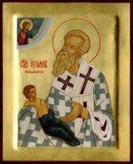 Иулиан Кеноманийский (рукописная икона)