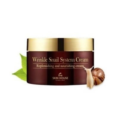 The Skin House Wrinkle Snail System Cream - Антивозрастной крем с улиточным муцином