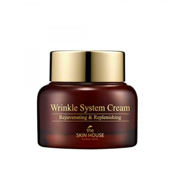 The Skin House Wrinkle System Cream - Коллагеновый крем от морщин
