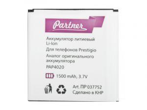 Аккумулятор Partner Prestigio MultiPhone РАР4020 DUO