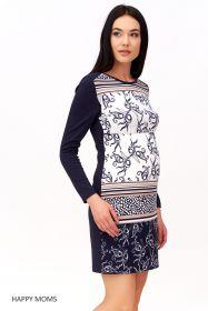 Платье для беременных и кормящих мам Артикул: 33078