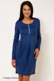 Платье синее Артикул: 99226