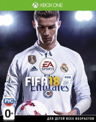 Игра Fifa 18 (Xbox One, русская версия)