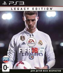 Игра Fifa 18 Legacy Edition (PS3, русская версия)
