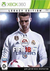 Игра Fifa 18 Legacy Edition (Xbox 360, русская версия)