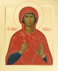 Ираида  (рукописная икона)