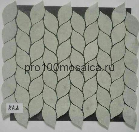 KA02. Мозаика серия Камень чип 35*70, размер, мм: 350*300*8 (Happy Mosaic)
