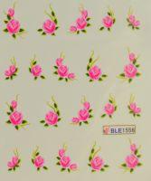 Водная наклейка для дизайна ногтей BLE 1556