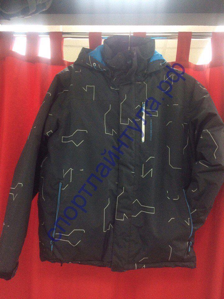 Куртка горнолыжная мужская 5SEASON 12001-595 черная