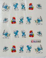 Водная наклейка для дизайна ногтей  BLE 1602