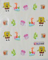 Водная наклейка для дизайна ногтей  BLE 1609