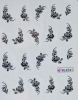 Водная наклейка для дизайна ногтей  BLE541