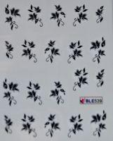 Водная наклейка для дизайна ногтей  BLE539