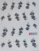 Водная наклейка для дизайна ногтей  BLE537