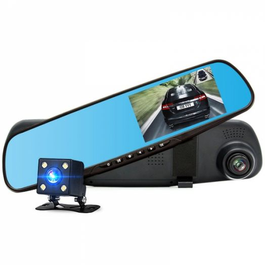 Автовидеорегистратор зеркало + камера Орбита HAD-39