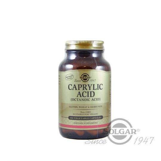 Каприловая кислота (Caprylic Acid), 100 капсул