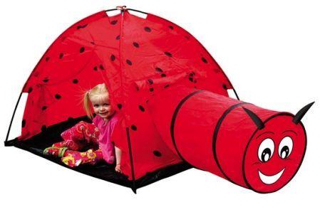 """Игровой домик - палатка """"Божья коровка"""" в/к 170*112*94 см"""