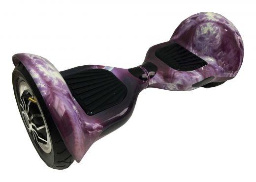 Гироскутер Smart Balance SUV 10 Самобаланс Облака Фиолетовые