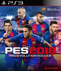 Игра PES 2018 Pro Evolution Soccer. Premium Edition (PS3)