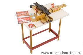 Фрезерный стол M-RT COMBO 3 (позиционер 432 мм, столешница 27x43дюйм, боковой упор Wonder Fence) INCRA
