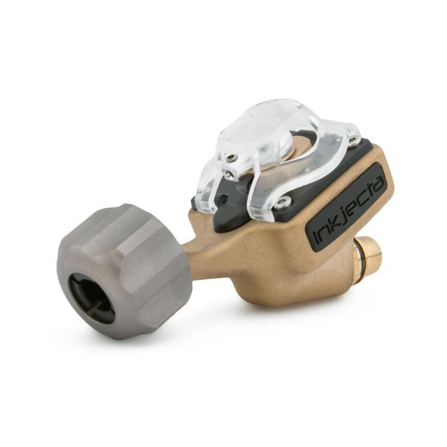InkJecta Flite Nano Elite Tattoo Machine – Blast Brass