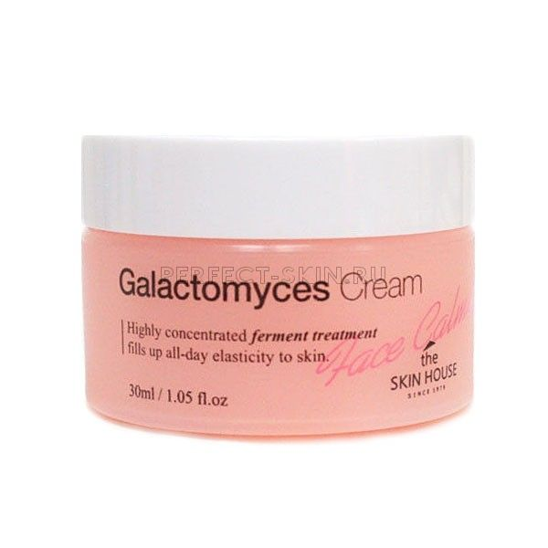 The Skin House Face Calming Galactomyces Cream - Успокаивающий крем для лица