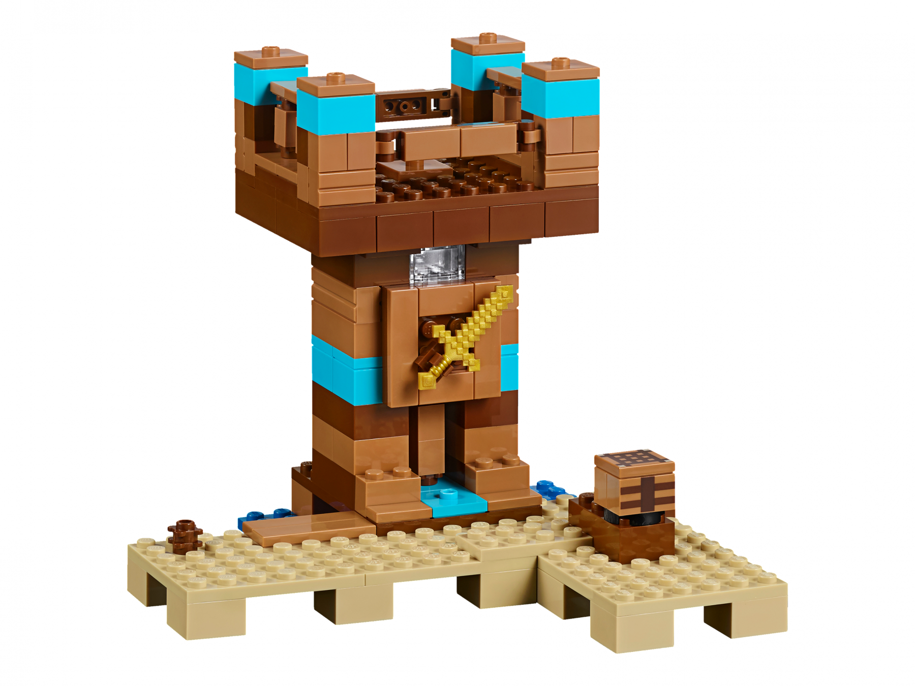 Лего майнкрафт набор верстак