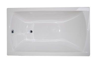 Акриловая ванна 1 Marka POSEIDON Modern 120*70