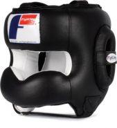 Шлем боксерский тренировочный Fighting Sport с защитным бампером FSCHG
