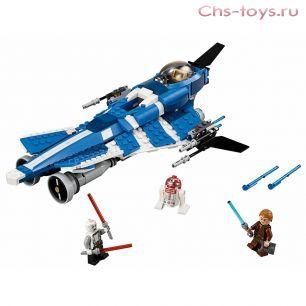 Конструктор Lari Звездные войны Джедайский истребитель Энакина 10375 (75087) 369 дет