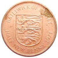 Остров Джерси 1/2 пенни 1971 г.