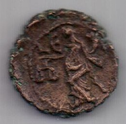 тетрадрахма 286-310 гг. Александрия. Египет. Рим