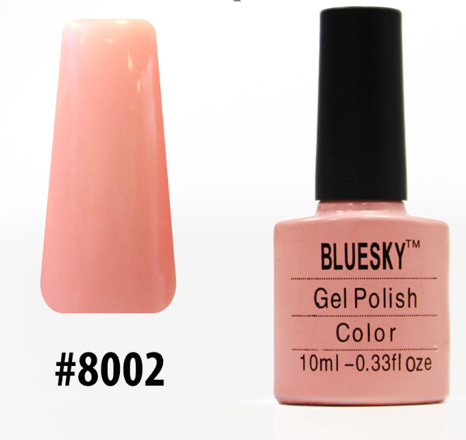 Гель-лак Bluesky Shellac Color 10ml №8002