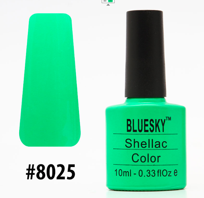 Гель-лак Bluesky Shellac Color 10ml №8025