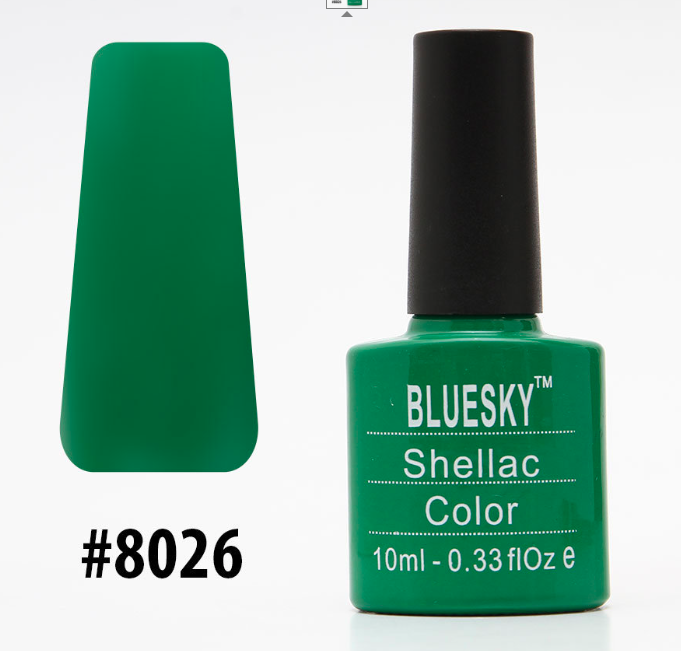Гель-лак Bluesky Shellac Color 10ml №8026