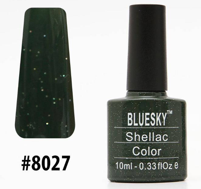 Гель-лак Bluesky Shellac Color 10ml №8027