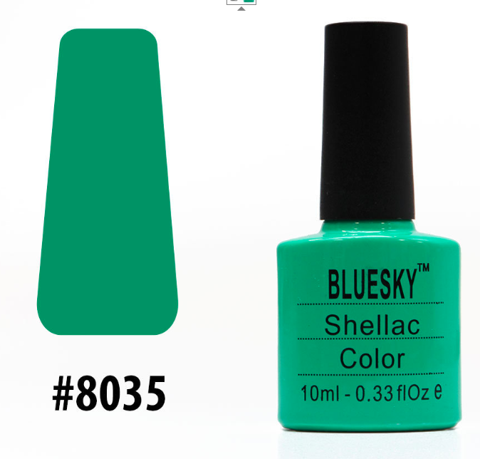 Гель-лак Bluesky Shellac Color 10ml №8035
