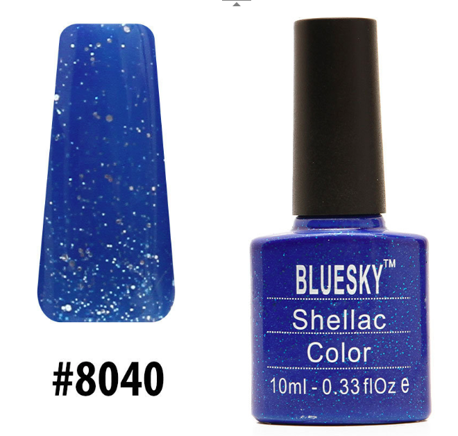 Гель-лак Bluesky Shellac Color 10ml №8040