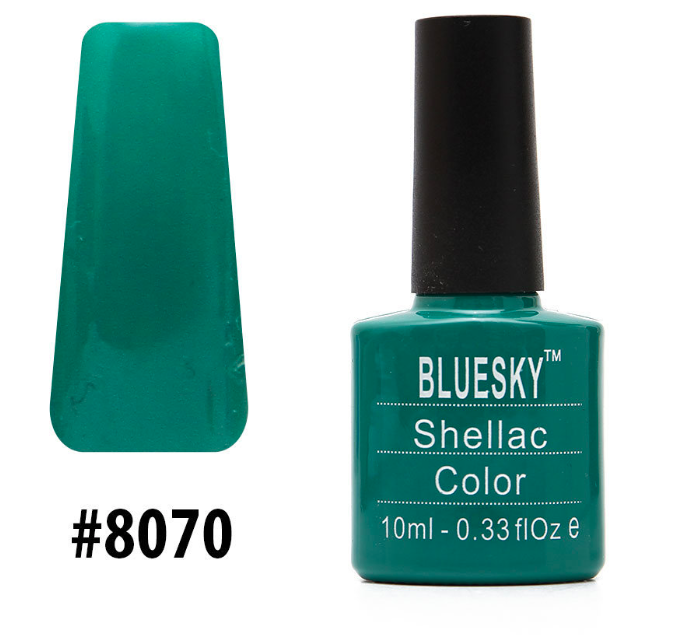 Гель-лак Bluesky Shellac Color 10ml №8070