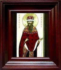 Дионисий Радонежский (21х24), простой киот