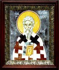 Евстафий Антиохийский (19х22), темный киот