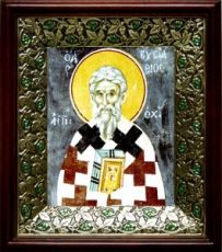 Евстафий Антиохийский (21х24), киот со стразами
