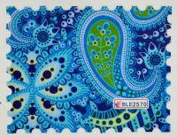 Водная наклейка для дизайна ногтей BLE 2570