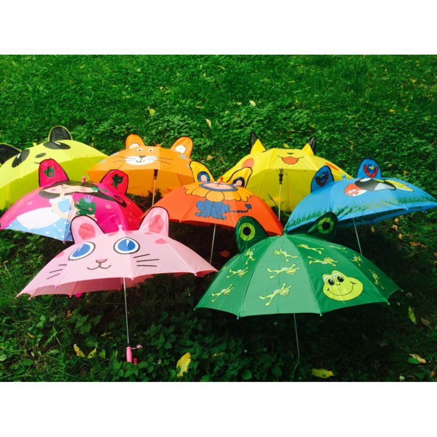 Детский зонт с ушками